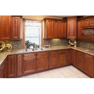 Faircrest Glazed Cherry Cabinets