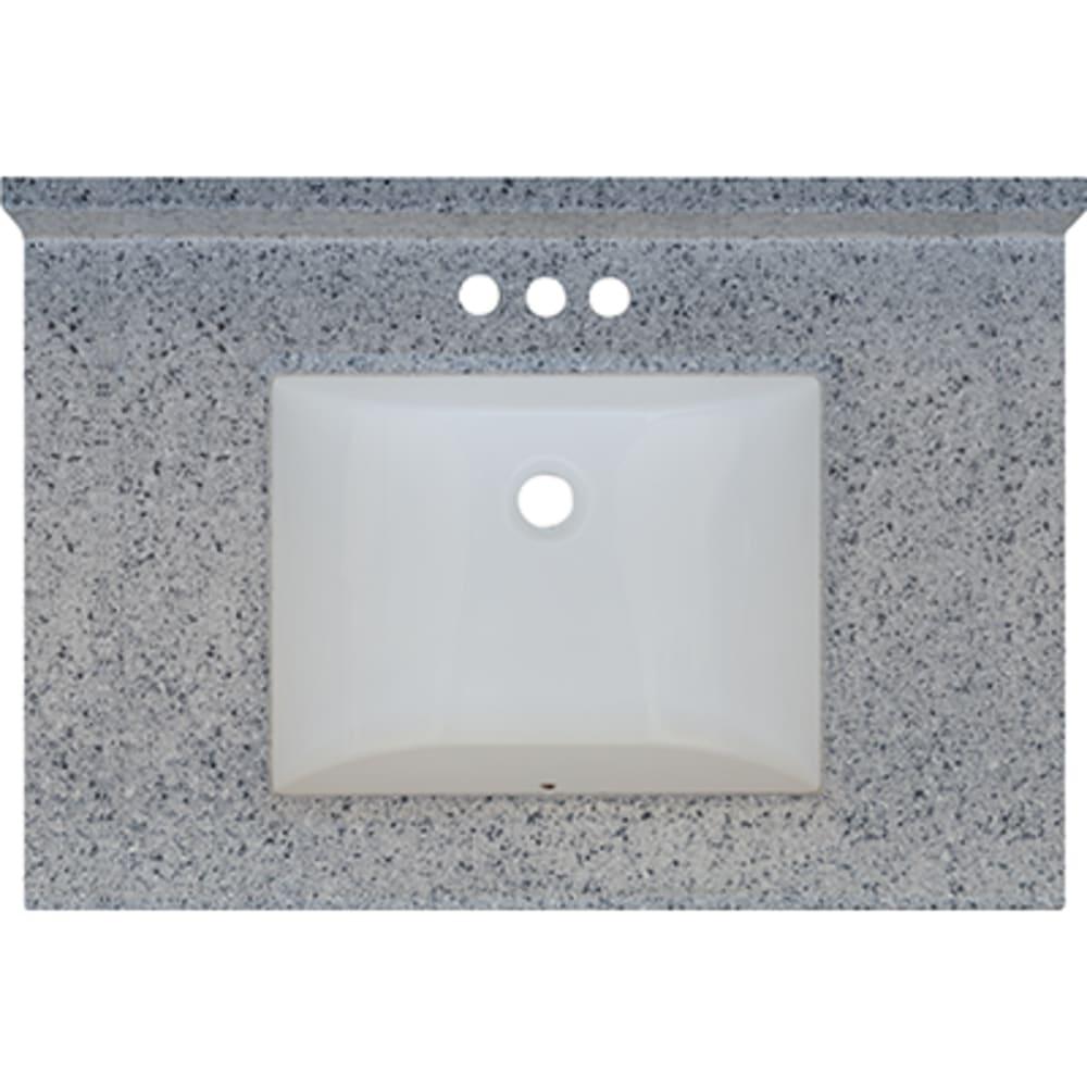 5020717 Moonscape 31x22 Engineered Stone Granite Finish Vanity Top