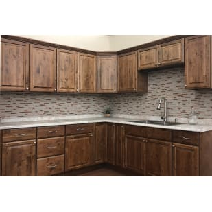 Heritage Distressed Mocha Cabinets