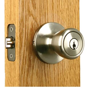 7528234 Entry Ball Lockset Satin Nickel