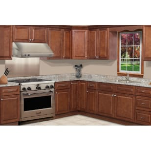 GHI Charleston Traditional Cognac Kitchen Cabinets