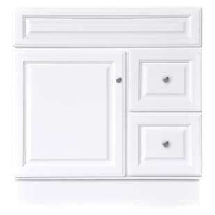 "North Timber Harbor White 30"" x 21"" Vanity Base"