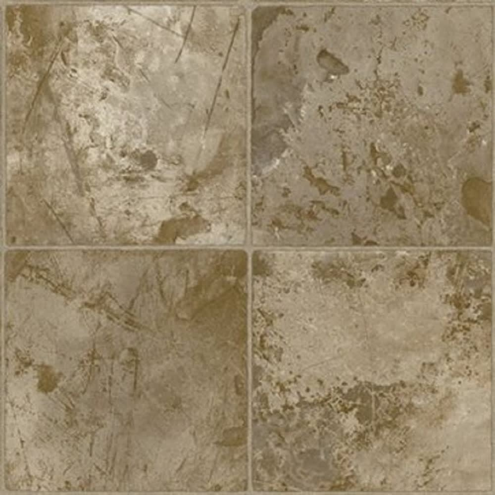 Armstrong FlexStep 12' Stonegate Winchester Brown Vinyl Flooring