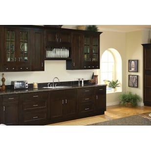 Sunnywood Healdsburg Walnut Shaker Kitchen Cabinets