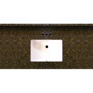 Uba Tuba 49x22 Granite Vanity Top with Square Bowl