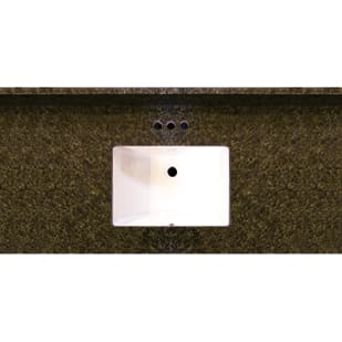 Uba Tuba 49x22 Granite Vanity Top with Square Bowl