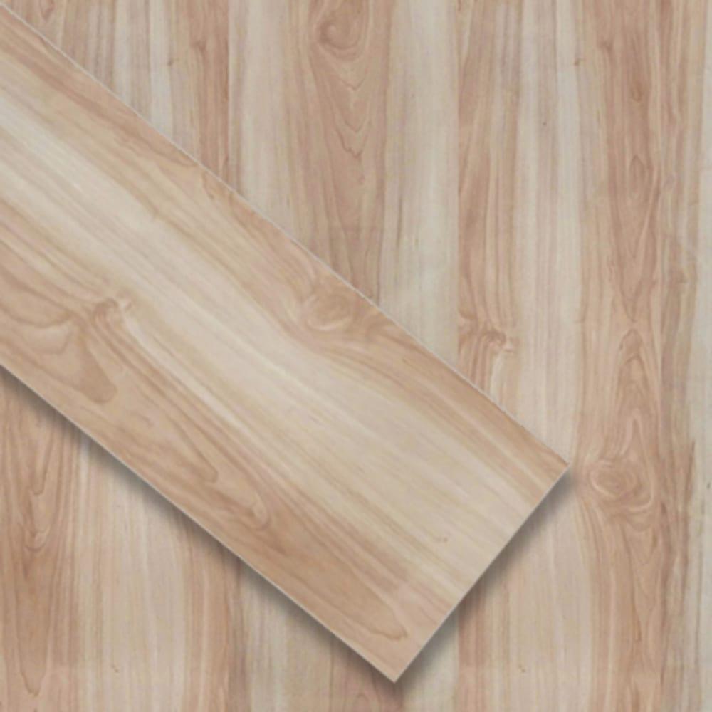 5524302 Luxury Click Vinyl Outset  6x36 Natural Maple Plank Floor