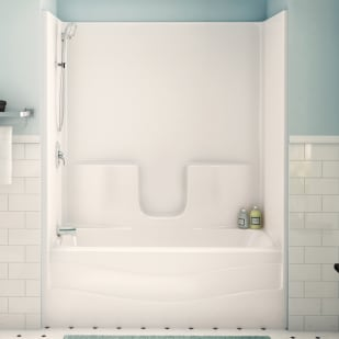 "Maax TS3060 60"" White Tub Shower Unit with right drain"