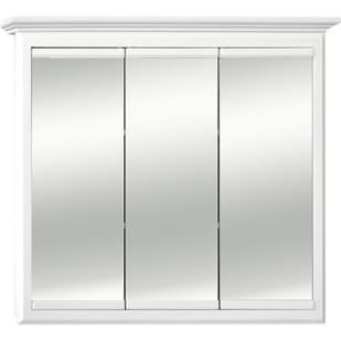 5018023 Linen White 36x30 Triview Medicine Cabinet