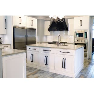 Heritage White Shaker Kitchen Cabinets