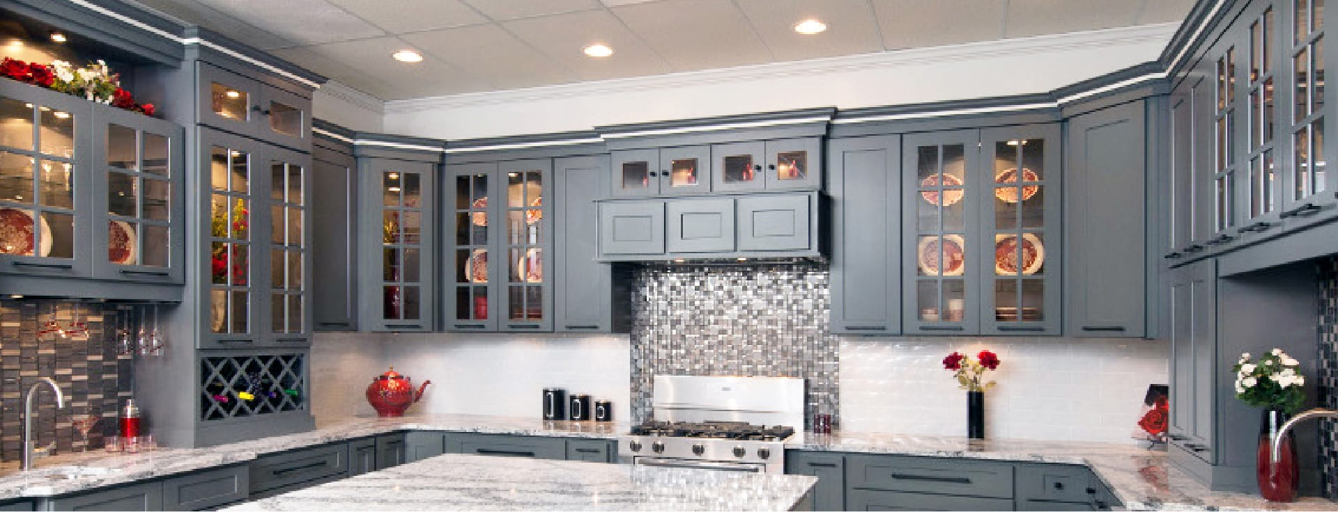 Platinum Shaker Cabinets