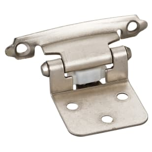 "Flush Hinge 4-#5 x 5/8"" Satin Nickel"