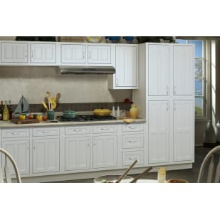 Sunnywood Palmetto White Shaker Kitchen Cabinets