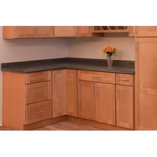 North Timber Newport Honey Kitchen Cabinets