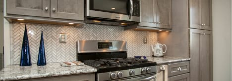 Heritage Gray Cabinets