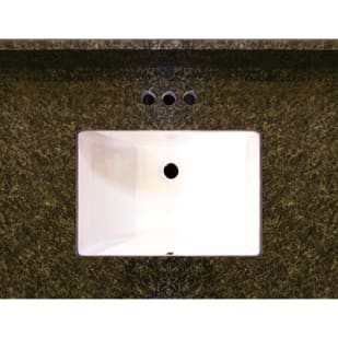 5020011 31x22 Uba Tuba Granite Vanity Top with Square Bowl