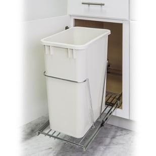 5049025 Pullout Trash Bin System for 15 base cabinet  SINGLE