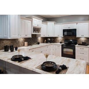 Faircrest Apsen White Kitchen Cabinets
