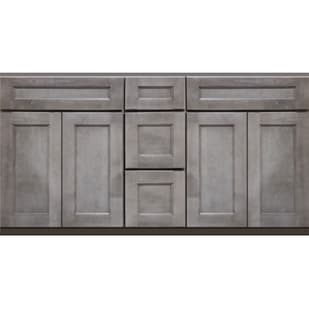 5025208 Heritage Smokey Gray 60 Double Bowl Vanity