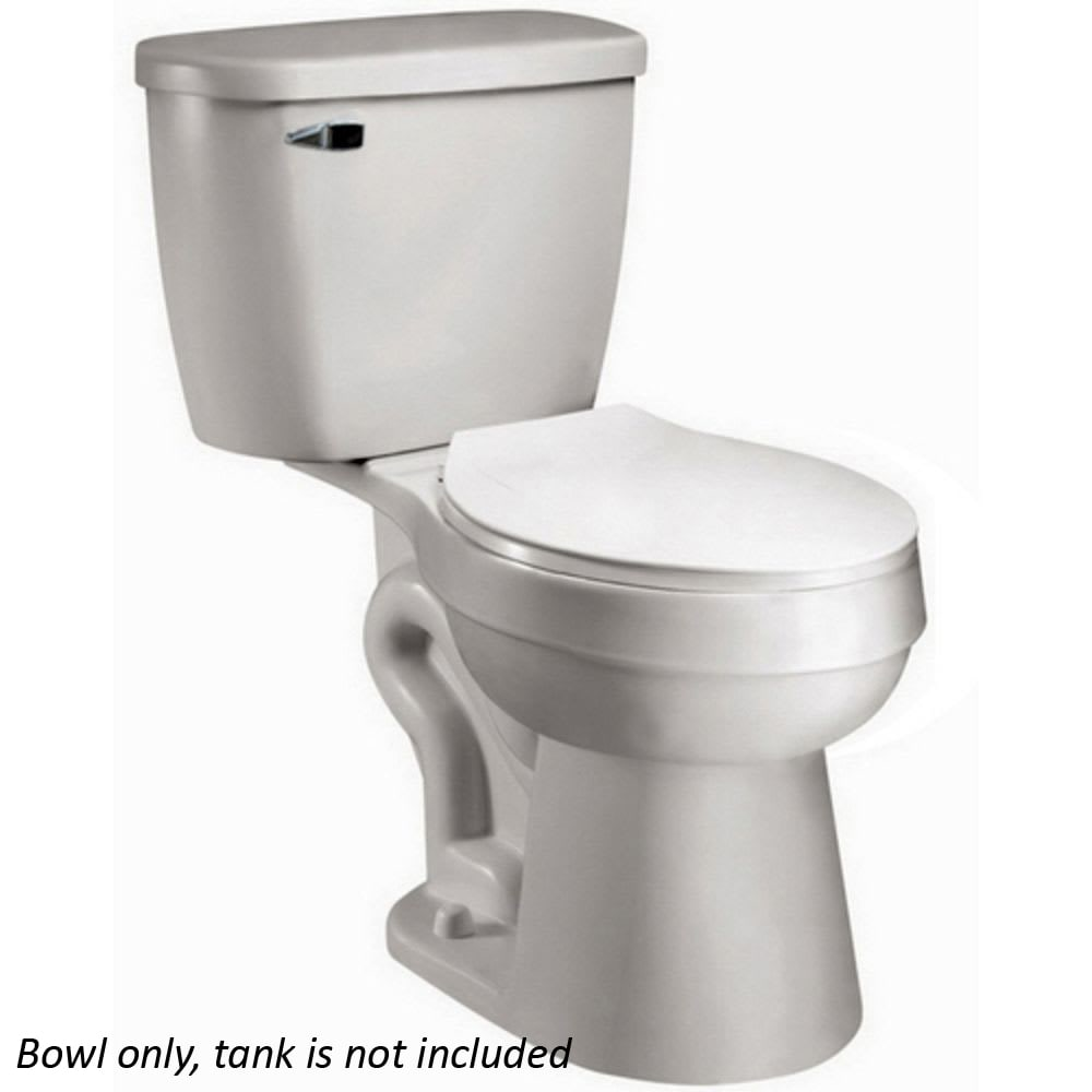 Baltic White Elongated Toilet Bowl