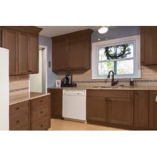 NEKC Putnam Walnut Shaker Kitchen Cabinets