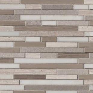 5536082 STIK Wall Tile  Arctic Storm Peel  amp  Stick Mosaic Tile
