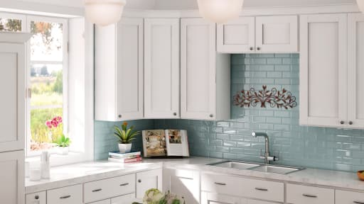 RTA Shaker White Kitchen Cabinets