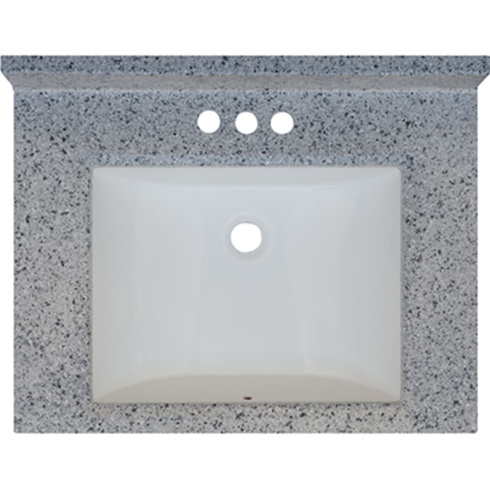5020715 Moonscape 25x19 Engineered Stone Granite Finish Vanity Top