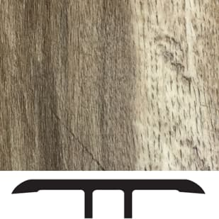 5556003 Luxury Vinyl Floor Transition Molding   Weathered Oak