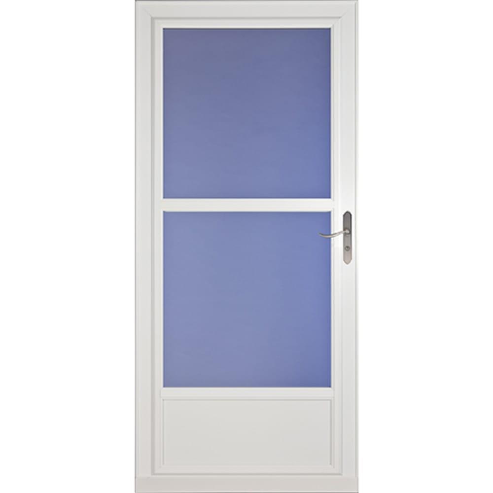 4540171 36 Screenaway 3 4 View Storm Door  White