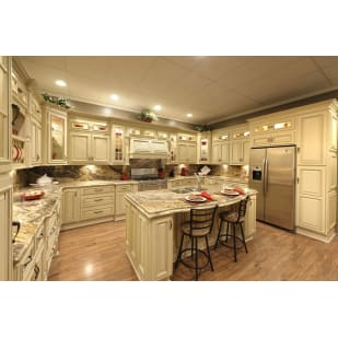 Faircrest Heritage White Kitchen Cabinets