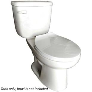 Huron White 1.28GPF Low Consumption White Toilet Tank