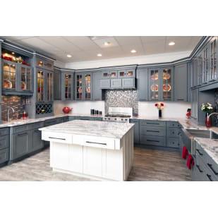 Faircrest Platinum Shaker Kitchen Cabinets