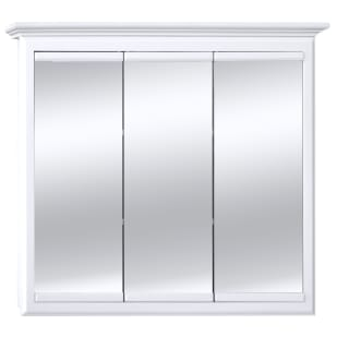 50240108 HARBOR WHITE 36X30 TRIVIEW MEDICINE CABINET