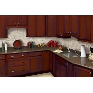 NEKC Southbury Bordeaux Shaker Kitchen Cabinets
