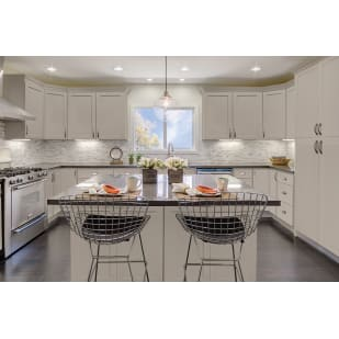 GHI Stone Harbor Gray Shaker Kitchen Cabinets