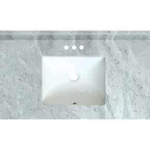 5020724 Carrara Marble 37x 22  Natural Marble Vanity Top
