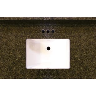 Uba Tuba 37x22 Granite Vanity Top with Square Bowl