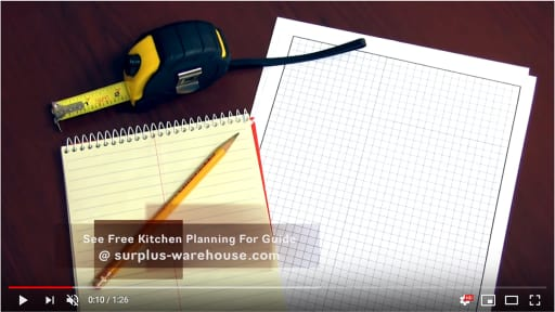 Kitchen Measurements Video