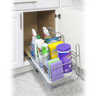 5049051 Pullout Cleaning Supply Caddy
