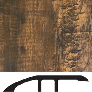 5556026 Luxury Vinyl Floor Reducer Molding   River Rock