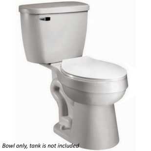 Baltic White Elongated Toilet Bowl