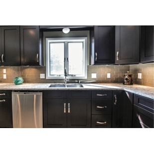 NEKC Durham Espresso Shaker Kitchen Cabinets