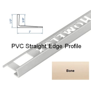 5552824 HomeLux PVC Straight Edge Flooring Trim
