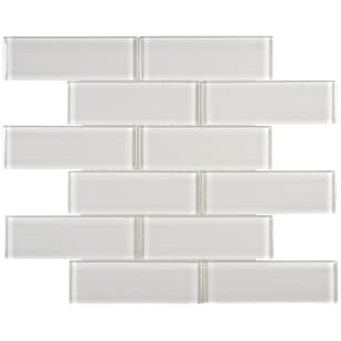 5536598 Arctic Fog 2x6 Subway Glass Mosaic
