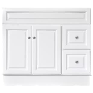 "North Timber Harbor White 36"" x 21"" Vanity Base"