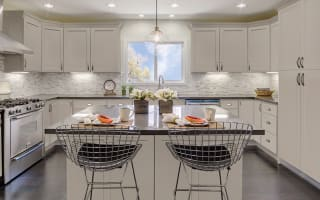 Stone Harbor Gray Cabinets