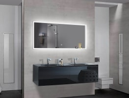 Lighted Impressions Azure Mirror