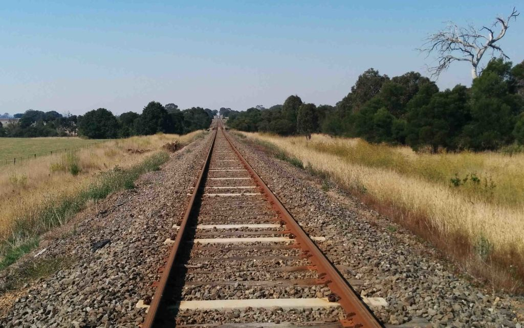 There is a lot of rail track in the world