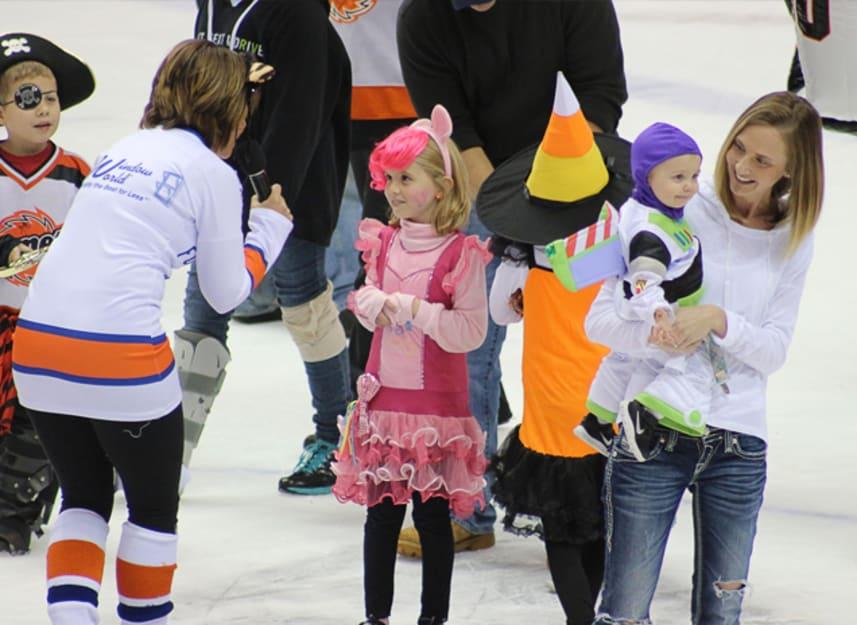 Halloween Costume Parade On-Ice Saturday, October 31